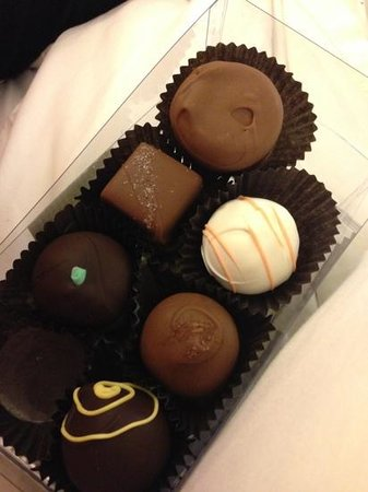 Best Chocolate In Town: variety
