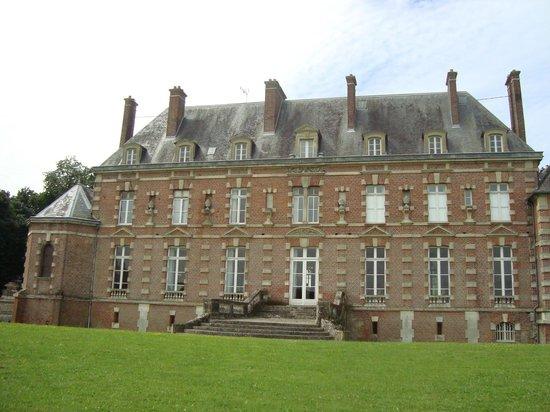Chateau d'Auteuil: Rückseite - Hauptgebäude