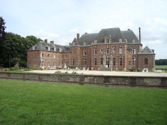 Chateau d'Auteuil: Schloss und Schlosshof