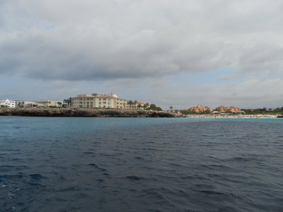 Grupotel Tamariscos: Hotel from the sea
