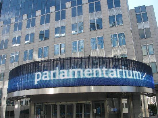 Parlamentarium : parlamento.