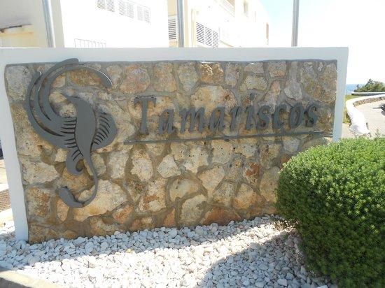 Grupotel Tamariscos: Hotel name sign