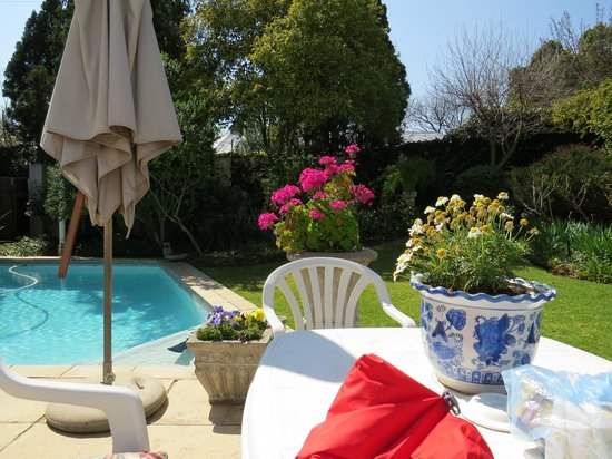 Rutland House Bed & Breakfast: Lovely pool when its warmer