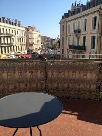 Hotel  Le Cavendish: vue depuis rotonde
