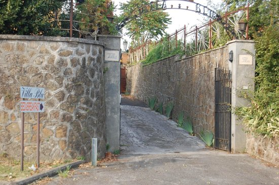 B&B Villa Blu Frascati: entrata