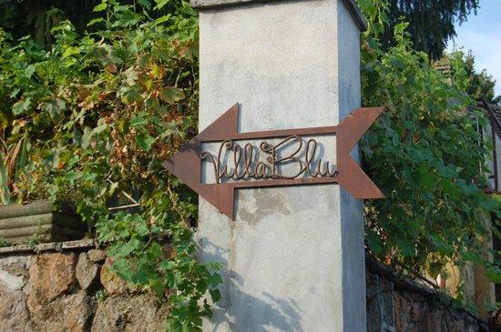 B&B Villa Blu Frascati: la freccia di villa blu