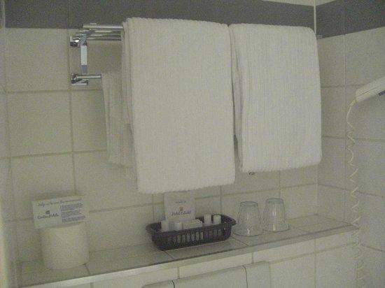 Hotel Citadel: чистая душевая комната