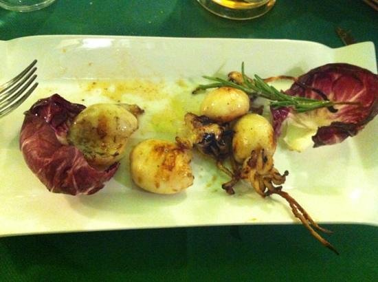 La Tavernetta : 15€ per queste 4 seppiette...VERGOGNA