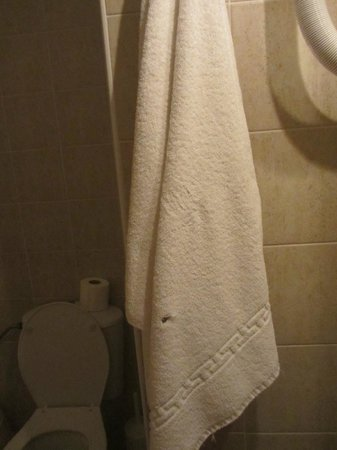 Creta Residence : Еще одно дырявое полотенце