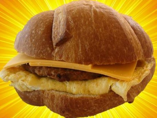 Daily Donuts : sandwiches croissant