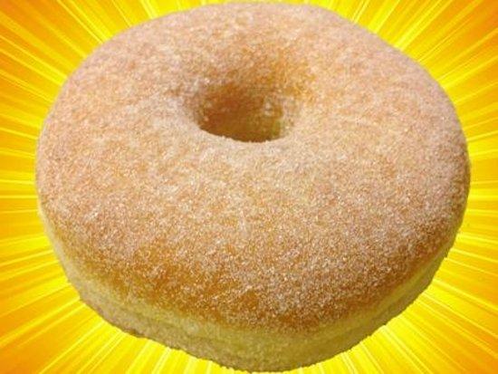 Daily Donuts : sugar glaze