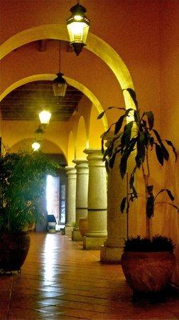 Hostal de la Noria: arquitectura colonial