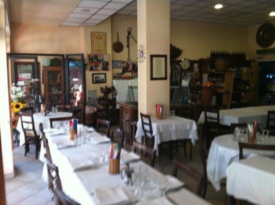 Da Gabriele : piccola parte interna del ristorante !