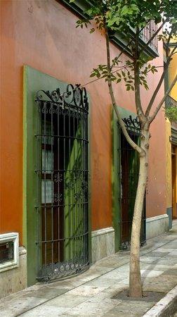 هوستل دي لا نوريا: exteriores