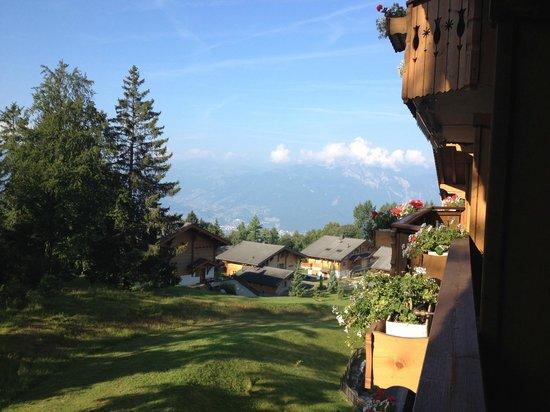 Chalet RoyAlp Hotel & Spa : Vue depuis la chambre