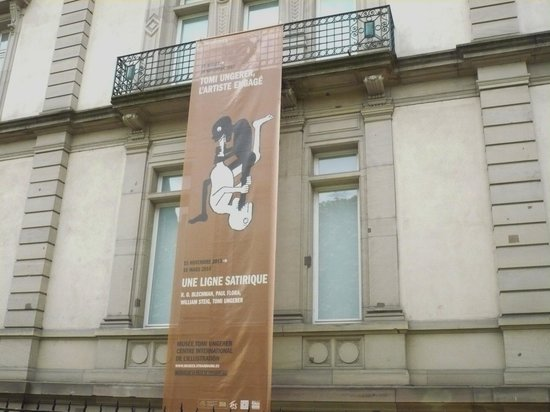 Musee Tomi Ungerer: Tomi Ungerer Museum