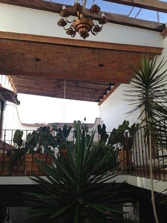 Hotel Meson de los Remedios: vista parcial de piso superior