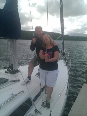 Bowness-on-Windermere, UK: our crew