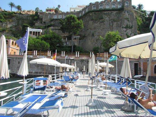 Europa Palace Grand Hotel: prive ponton