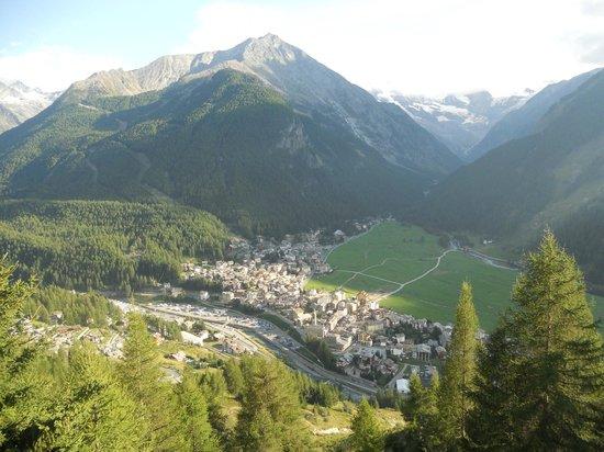 Albergo Belvedere Cogne: panorama dalla terrazza