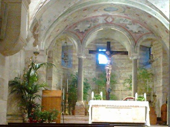 Chiesa di San Fermo: Altare San Fermo inferiore