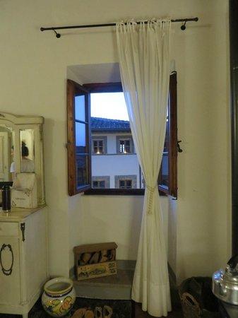 Le Terrazze del Chianti Bed & Breakfast: view from bedroom