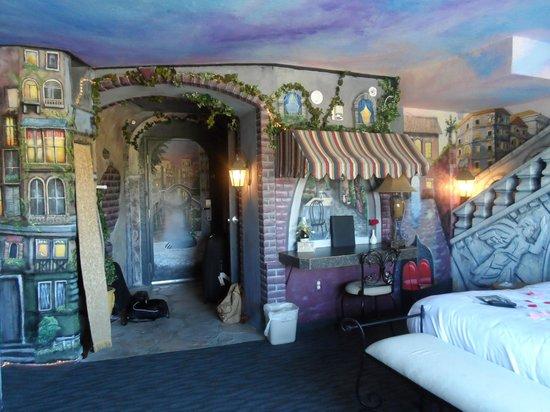 أمريك إن لودج آند سويتس ريكسبورج: Venetian suite