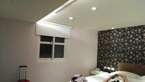 Hotel Puri: 房間光線不錯