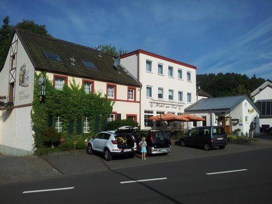 uitzicht Hotel Zur Post