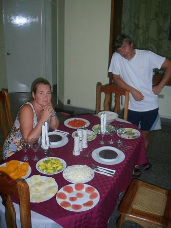 La Casa de Ernesto y Mireya: That dinner was cooked for us in two hours!