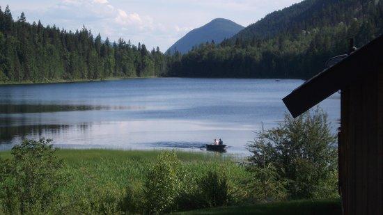 Alpine Meadows Resort: lake view