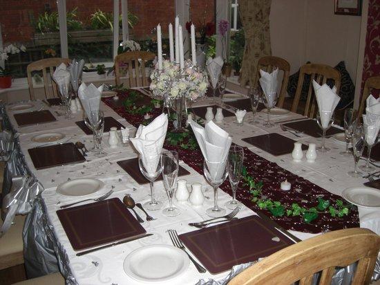 Broadfield Hotel: Wedding Meal