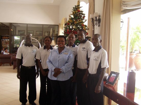 Protea Hotel by Marriott Livingstone: hotel staff
