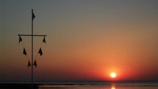 Hostal Andalucia: El mar de mi Chipiona ... parada obligada con playa y arena de encanto y aguas maravillosas !!