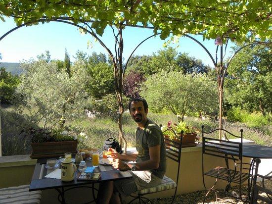 Le Clos des Lavandes : colazione