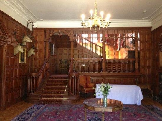 Mar Lodge Estate: Lodge front entrance