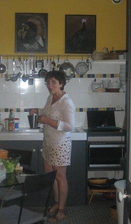 La Maison d'Albatre : Mme Vyncke, notre hôtesse