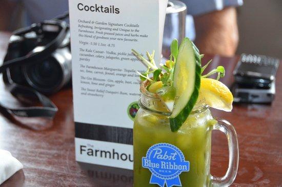 Kale Caesar Picture Of The Farmhouse Restaurant Barrie Tripadvisor