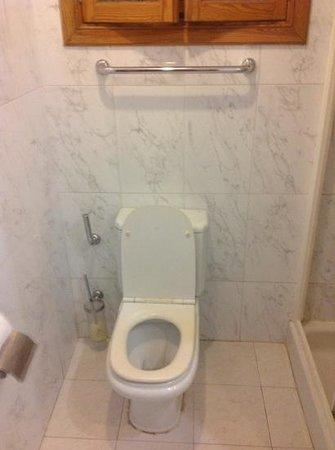 Caleton Blanco: Mouldy toilet