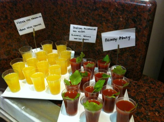 Hotel Galeon: Bloody Mary for breakfast