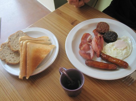 Lough Derg House: Irish breakfast