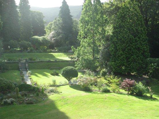 Glandyfi Castle : Garden view from Wren