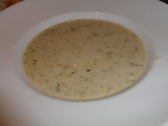 Nevis Bank Inn: Soup of the day