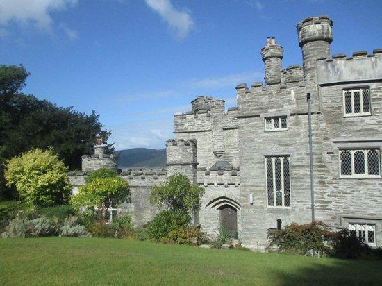 Glandyfi Castle : Entrance