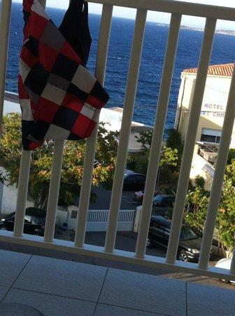 Langley Hotel Mediterranee: Utsikt