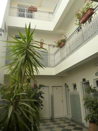 Hotel Tiznine: Innenhof