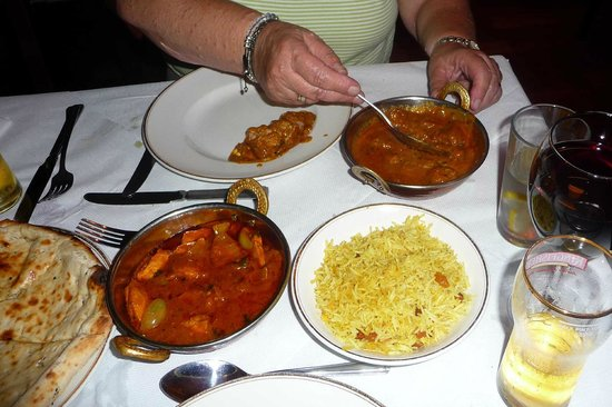 Shiraz Indian Cuisine: Main courses