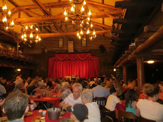 The Campsites at Disney's Fort Wilderness Resort: Inside Pioneer Hall