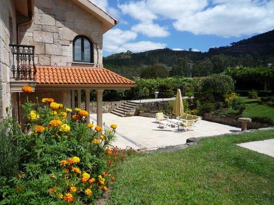 Casa das Pias: jardin