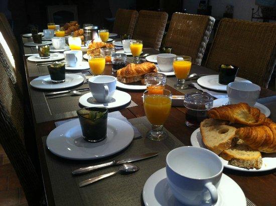 Manoir de l'Isle : breakfast